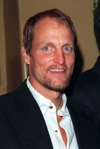 Actor Woody Harrelson smiling