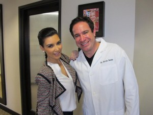 Kim Kardashian and Kevin B. Sands, DDS