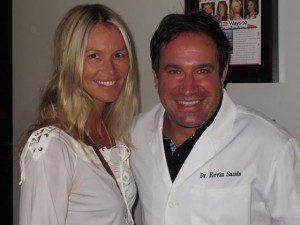Elle McPherson & Kevin B. Sands, DDS