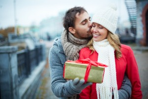 cold weather kiss